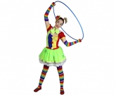 brisbane-kids-party-circus-clown girl