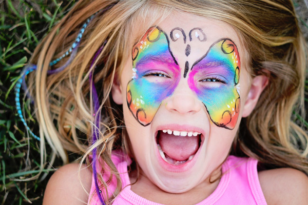 face-paint-butterfly