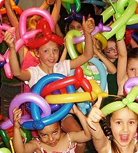 Balloon Fun At Your Birthday Party