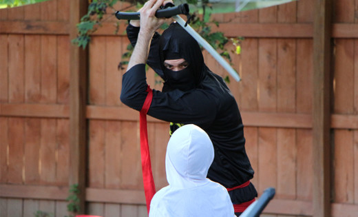 ninja kids birthday party