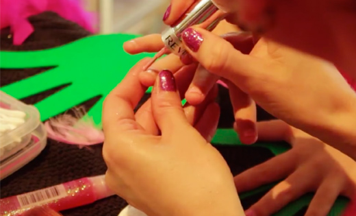 nail party girls