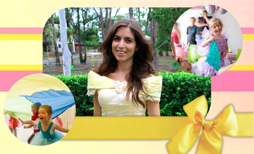 Children-Princess Belle Themed Birthday Party Entertainers