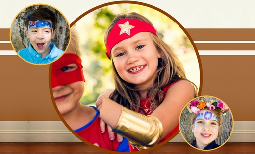 Wonder Woman Children Party