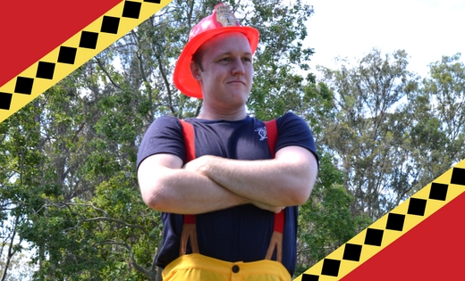 CHILDREN FIRE FIGHTER GAME SHOWS BRISBANE GOLD COAST