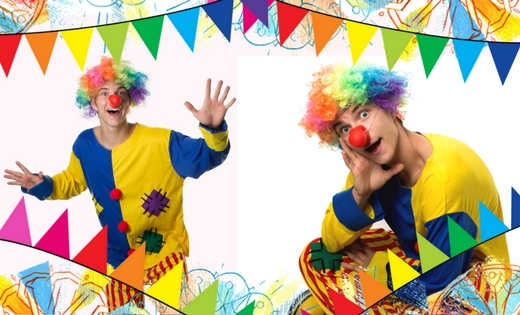 Clown Entertainment Brisbane Gold Coast Super Hero Kids Party