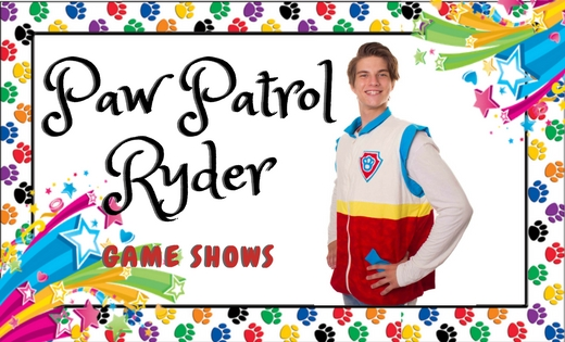 Paw Patrol Ryder Birthday Party Entertainer in Brisbane and Gold Coast