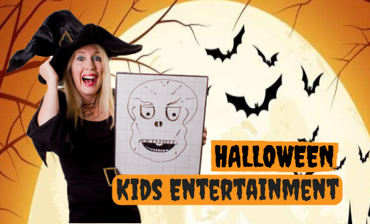 Halloween Kids Party Entertainment for Corporate Events in Brisbane and Gold Coast Themed Magic Shows