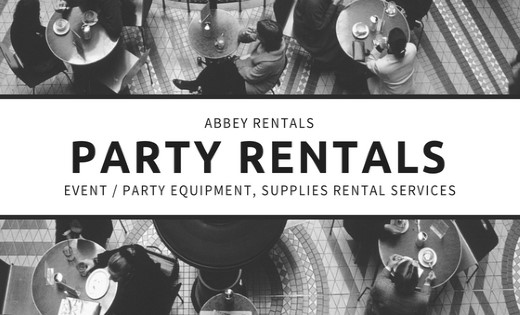 Party Equipment Supplies Rental Services in Brisbane and Gold Coast