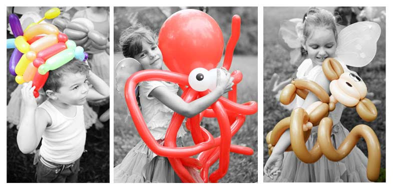 Balloon Creations Christmas Balloon Twisting for Christmas Holiday Corporate Events