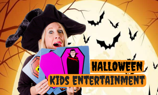 Best Kids Halloween Entertainment for Corporate Events Kindy Schools OSHC in Brisbane and Gold Coast Themed Magic Shows