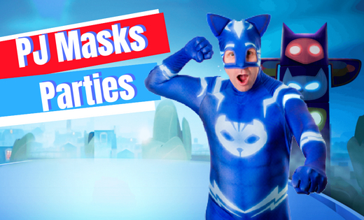 Kids Parties in Brisbane and Gold Coast PJ Mask Connor Themed Birthday Parties Character Parties Themed Entertainment