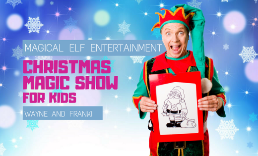 Kids Magic Show Entertainment For Corporate Events in Brisbane and Gold Coast Area Children Super Party Heroes