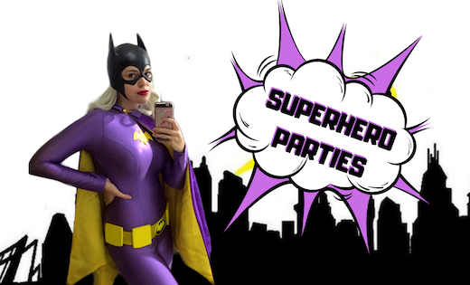 Bat Girl Birthday Parties Children Entertainment Brisbane Gold Coast Super Party Heroes