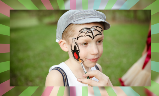 Face Painting for Birthday Parties in Brisbane and on the Gold Coast Area