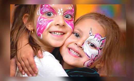 Full Face Painting Designs Brithday Parties Brisbane Gold Coast Super Party Heroes