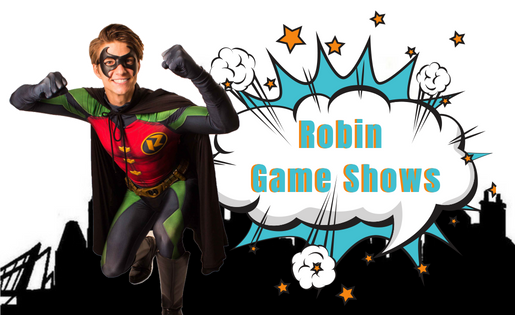 Robin Game Shows Super Party Heroes Birthday Party Packages Entertainment Brisbane and Gold Coast