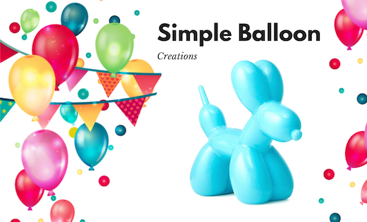 Simple Balloon Creation Balloon Twisting Birthday Parties Corporate Events Balloon Creation Brisbane and Gold Coast