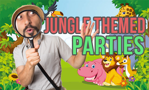 Jungle Themed Birthday Parties in Brisbane and Gold Coast