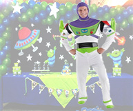 toy story buzz lightyear party in brisbane and gold coast