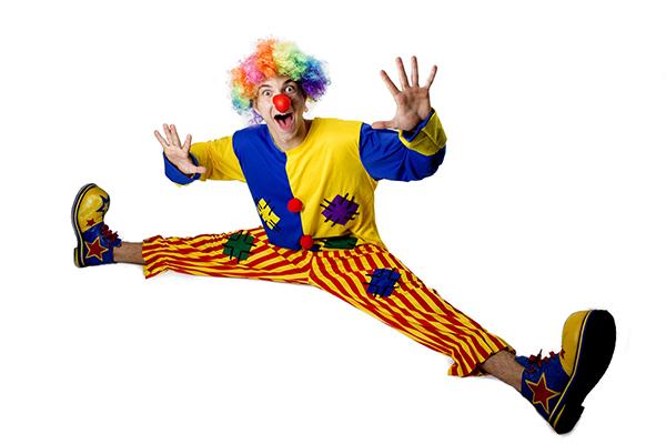clown-kids-birthday-party-brisbane-gold-coast