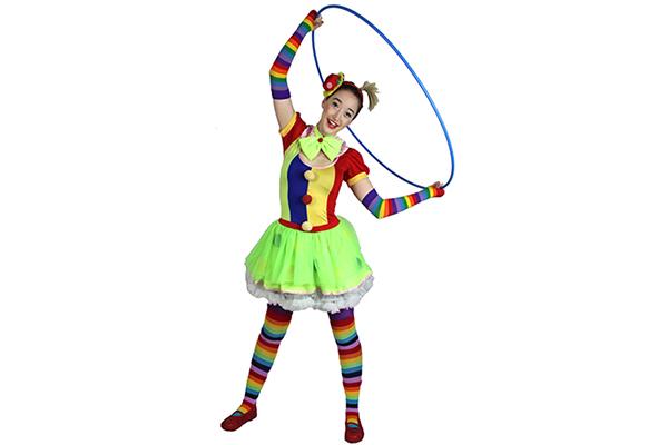 brisbane-kids-party-circus-clown girl