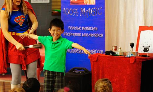 Boys Superhero Magician