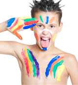 Face Painting For Boys