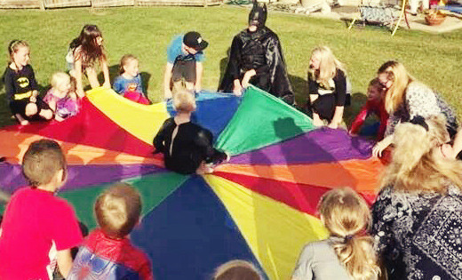 batman-parachute-party
