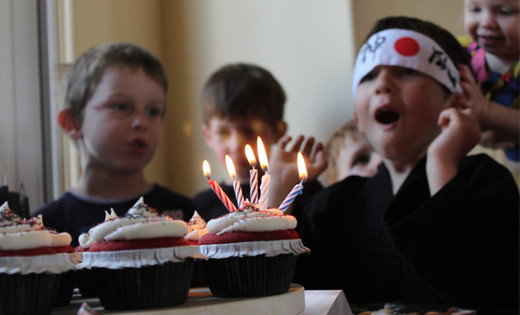 ninja birthday entertainment