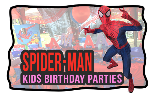 spidey kids themed birthday party