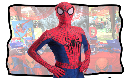 spiderman kid birthday parties