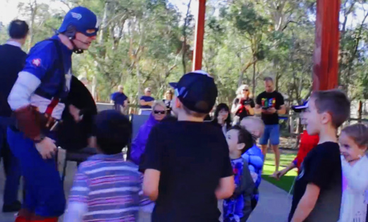 kids avengers birthday gold coast