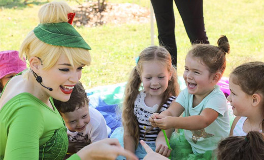 tink birthday party entertainer
