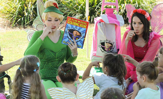 tinkerbell kids party character
