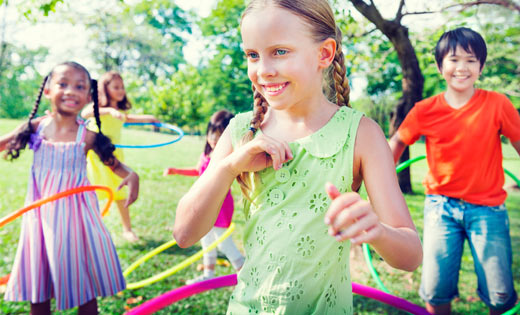 hula hooping party