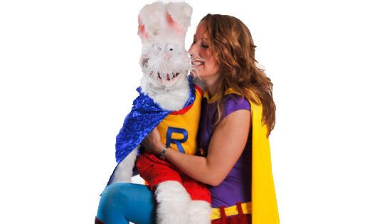 magician bunny hire