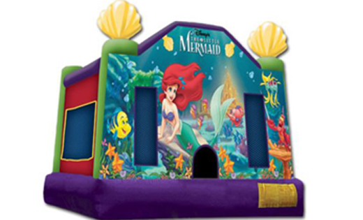 little mermaid jumping castle