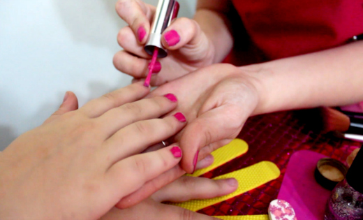 pamper parties girls