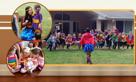 Kids Party Wonder Woman Queensland