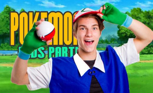 Pokemon Birthday Party Super Steph Fun Activities Birthday Parties Children Brisbane Queensland