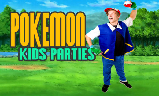 Pokemon Ash Super Party Heroes Birthday Party Host Brisbane Gold Coast Entertainers