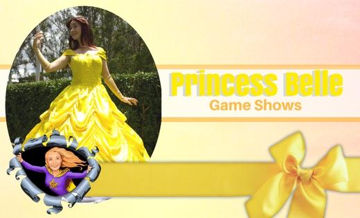 Princess Belle Brisbane Gold Coast Entertainers