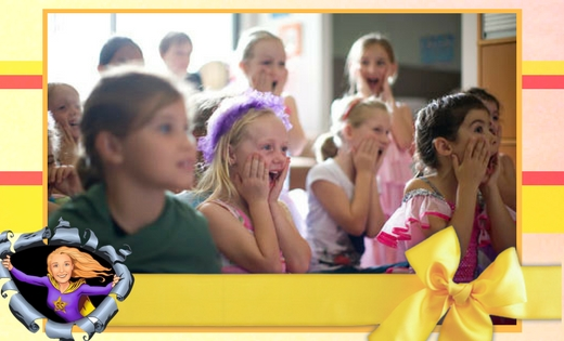 Princess Belle Themed Birthday Party Entertainers