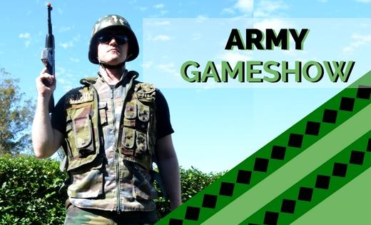 ARMY GAME SHOWS BRISBANE GOLD COAST SUPER STEPH