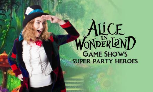 Alice In Wonderland Brisbane Gold Coast Game Shows Party Entertainment
