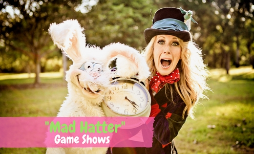 Alice In Wonderland Brisbane Gold Coast Game Shows Party Entertainment Kids Shows Mad Hatter