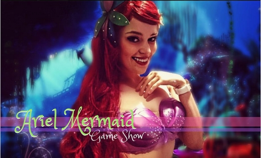 Ariel the Mermaid Game Shows Brisbane Kids Party Entertainment