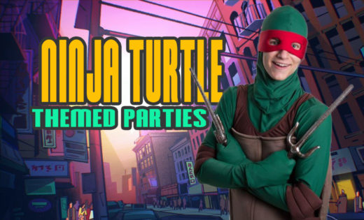 Ninja Turtle Birthday Party Host Gold Coast Brisbane Super Party Heroes