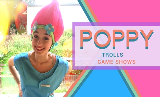 Poppy Trolls Themed Birthday Party Brisbane Gold Coast Super Steph Entertainment Kids Party