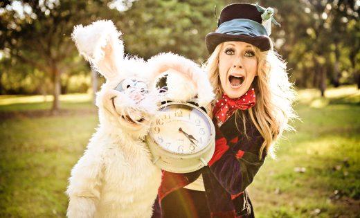 Alice In Wonderland Brisbane Gold Coast Game Shows Party Entertainment Kids Shows Mad Hatter